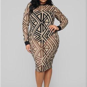 Dresses & Skirts - Sheer long sleeve dress